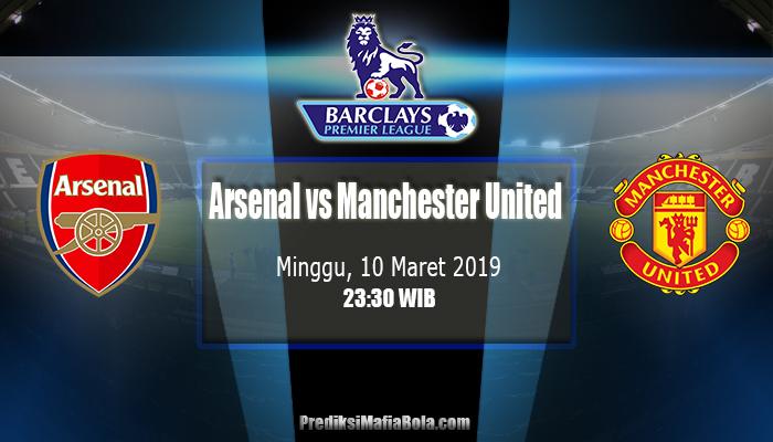 Prediksi Arsenal vs Manchester United 10 Maret 2019