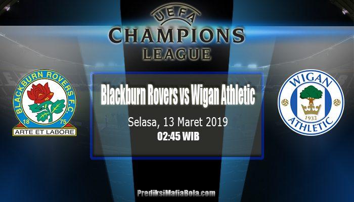 Prediksi Blackburn Rovers vs Wigan Athletic 13 Maret 2019