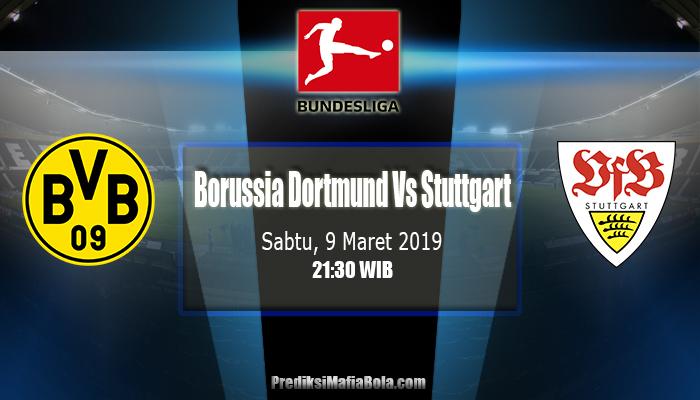 Prediksi Borussia Dortmund Vs Stuttgart 9 Maret 2019