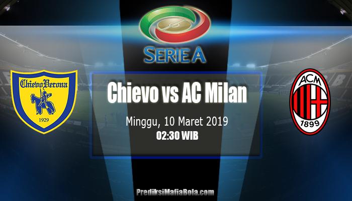 Prediksi Chievo vs AC Milan 10 Maret 2019