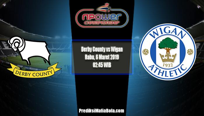 Prediksi Derby County vs Wigan 6 Maret 2019