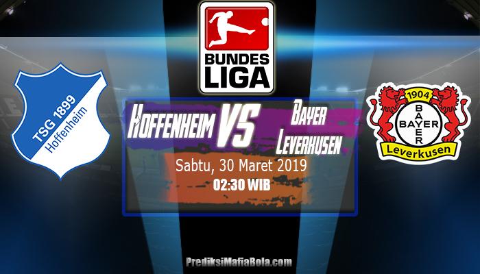Prediksi Hoffenheim vs Bayer Leverkusen 30 Maret 2019