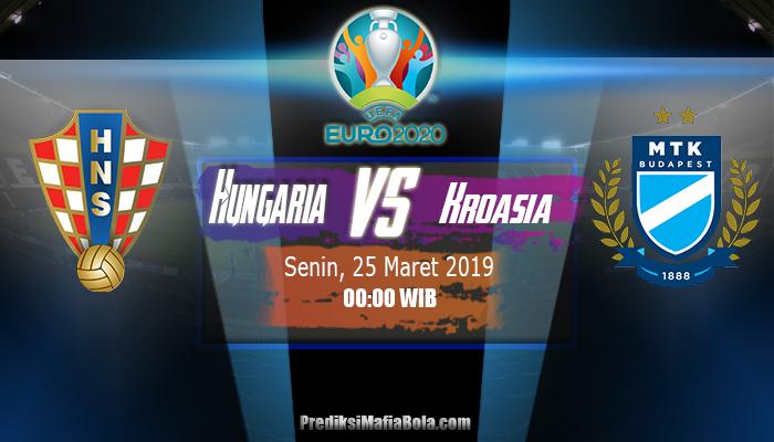 Prediksi Hungaria vs Kroasia 25 Maret 2019