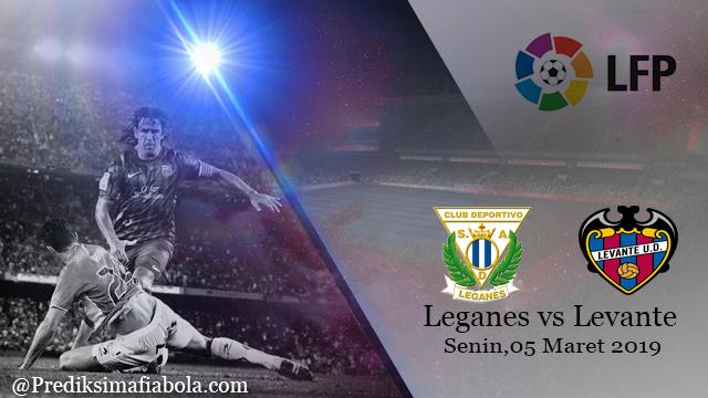 Prediksi Leganes vs Levante 05 Maret 2019