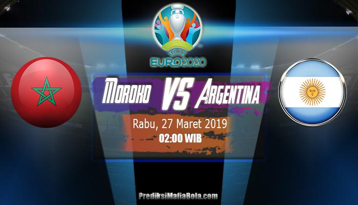 Prediksi Moroko Vs Argentina 27 Maret 2019