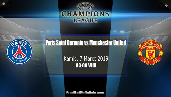 Prediksi Paris Saint Germain vs Manchester United 7 Maret 2019