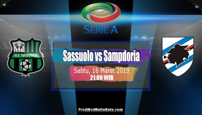 Prediksi Sassuolo vs Sampdoria