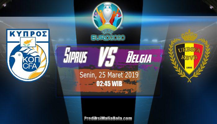 Prediksi Siprus vs Belgia 25 Maret 2019