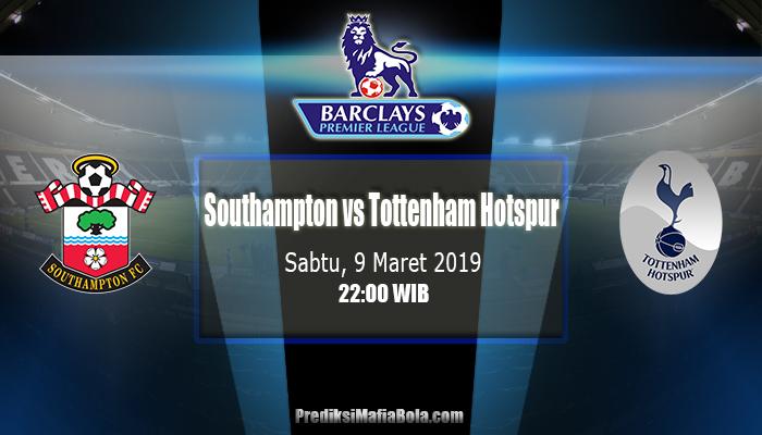 Prediksi Southampton vs Tottenham Hotspur 9 Maret 2019