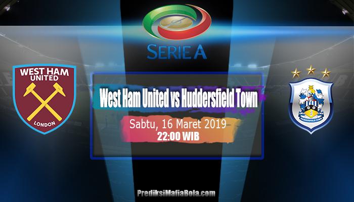 Prediksi West Ham United vs Huddersfield Town