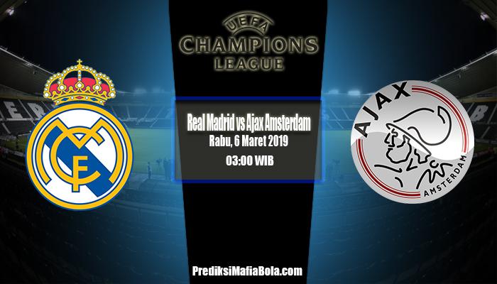 Prediksi Real Madrid vs Ajax Amsterdam