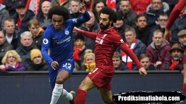 Babak I Liverpool vs Chelsea Belum Gol