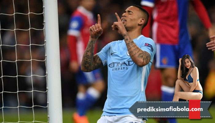 Gabriel Jesus Bawa Manchester City Melaju ke Final Piala FA