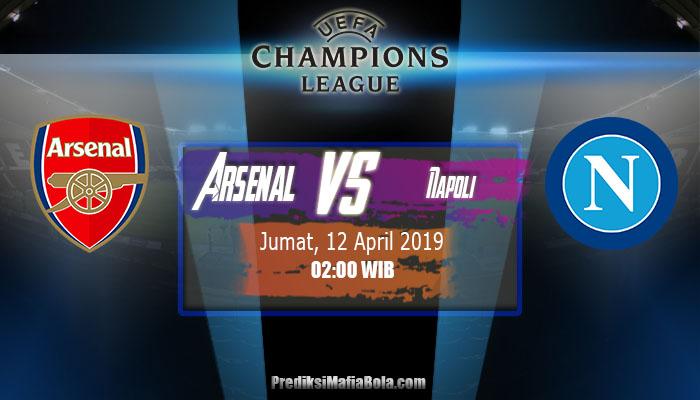 Prediksi Arsenal vs Napoli 12 April 2019