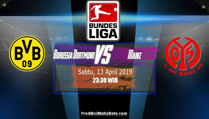 Prediksi Borussia Dortmund vs Mainz 13 April 2019