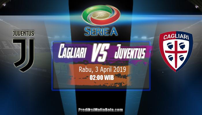 Prediksi Cagliari vs Juventus 3 April 2019