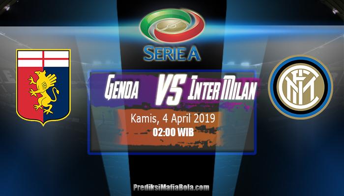 Prediksi Genoa vs Inter Milan 4 April 2019