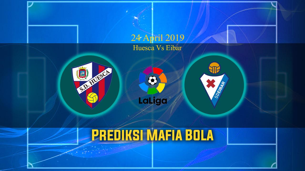 Prediksi Huesca Vs Eibar 24 April 2019