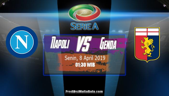 Prediksi Napoli vs Genoa 8 April 2019