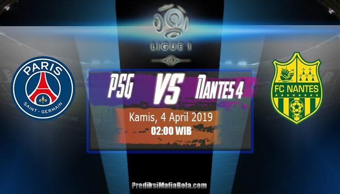 Prediksi PSG vs Nantes 4 April 2019