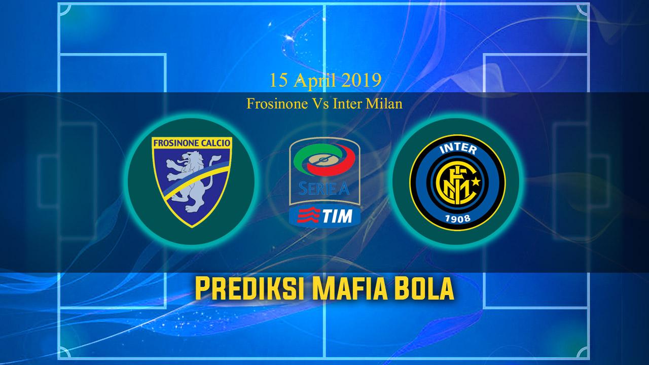 Prediksi Frosinone Vs Inter Milan 15 April 2019