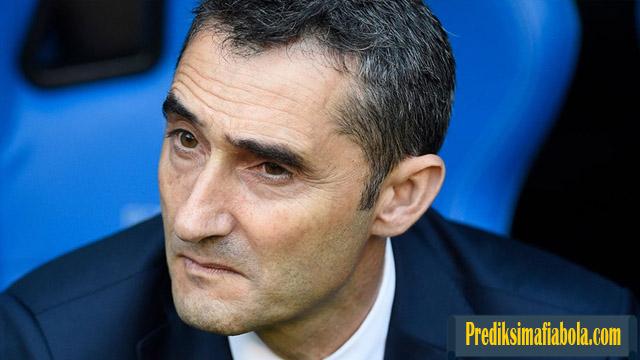 Barcelona Harus Segerah Pecat Ernesto Valverde