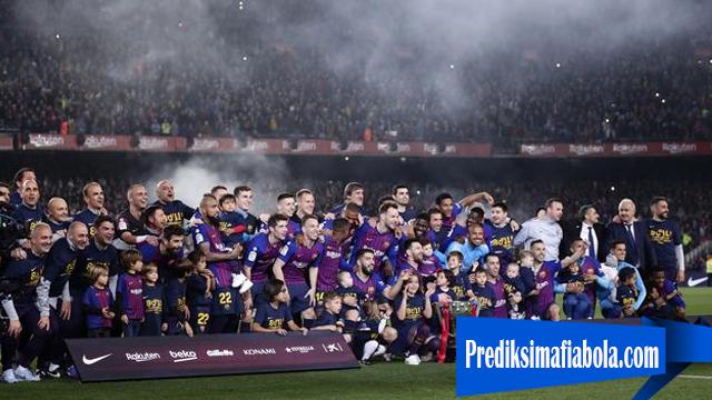 Barcelona Rekor Baru Poin Terjauh Dari Real Madrid