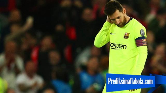 Messi Masi Sulit Menerima Kekalahan Timnya