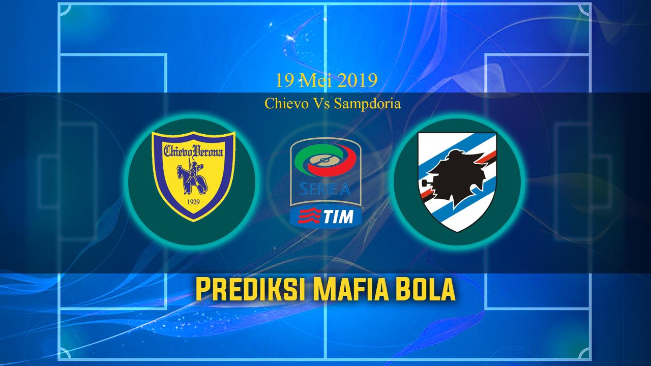 Prediksi Chievo Vs Sampdoria 19 Mei 2019
