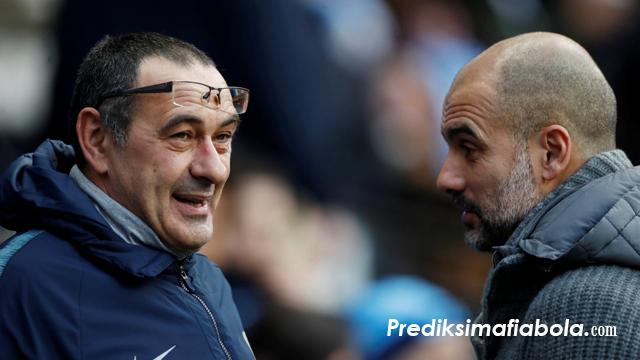 Maurizio Sarri Sama Hebat Dengan Josep Guardiola