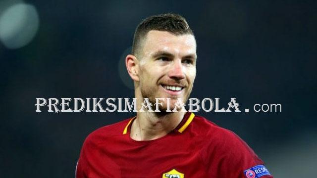 Inter Tidak Akan Dapat Dzeko Sebelum Roma Dapat Pengganti