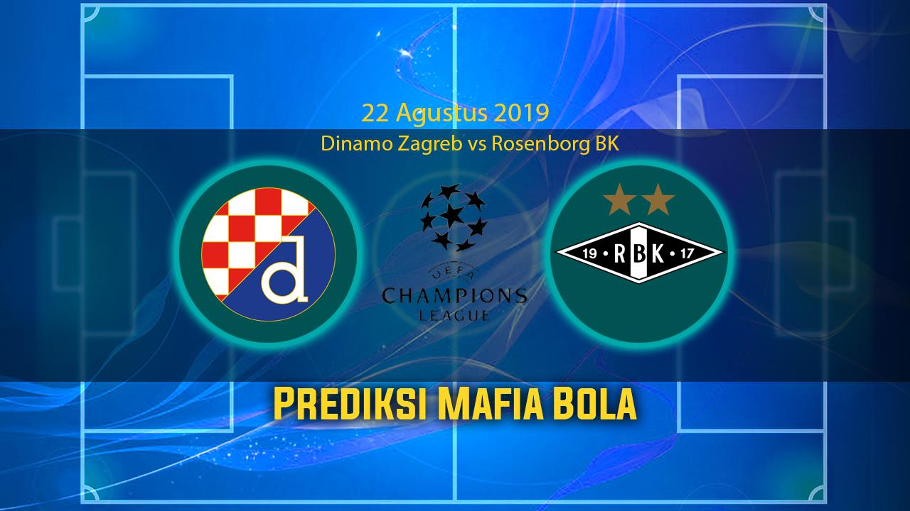 Prediksi Dinamo Zagreb Vs Rosenborg BK 22 Agustus 2019