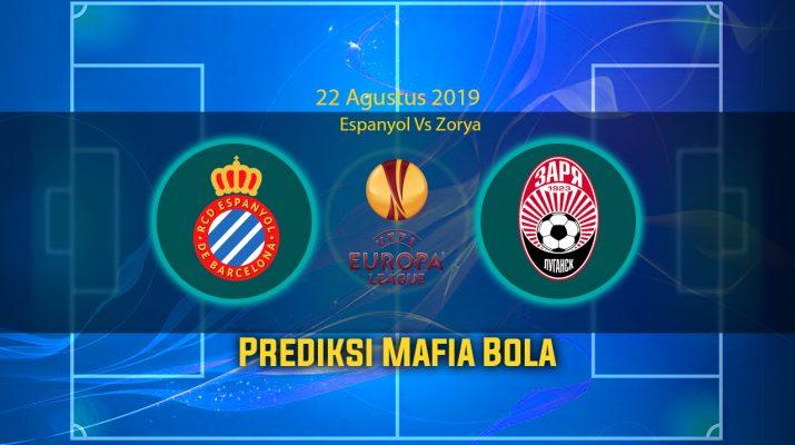 Prediksi Espanyol Vs Zorya 22 Agustus 2019