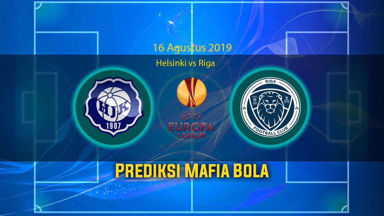 Prediksi Helsinki vs Riga 15 Agustus 2019
