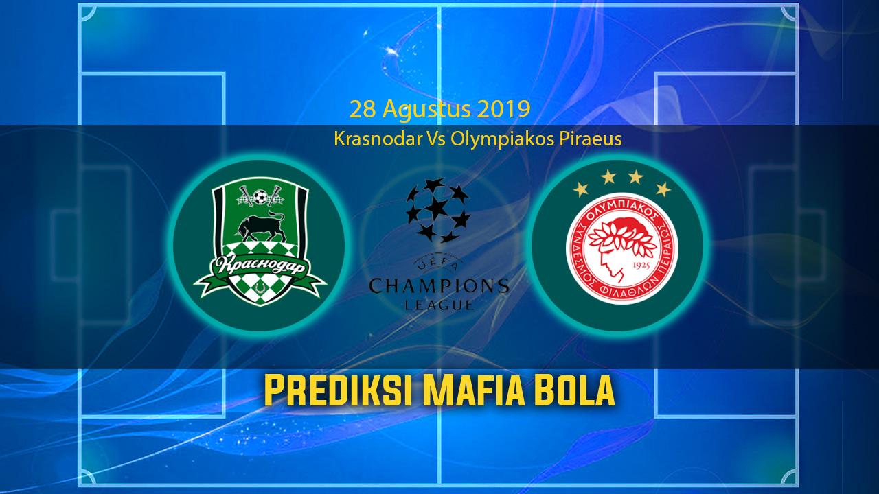 Prediksi Krasnodar Vs Olympiakos Piraeus 28 Agustus 2019