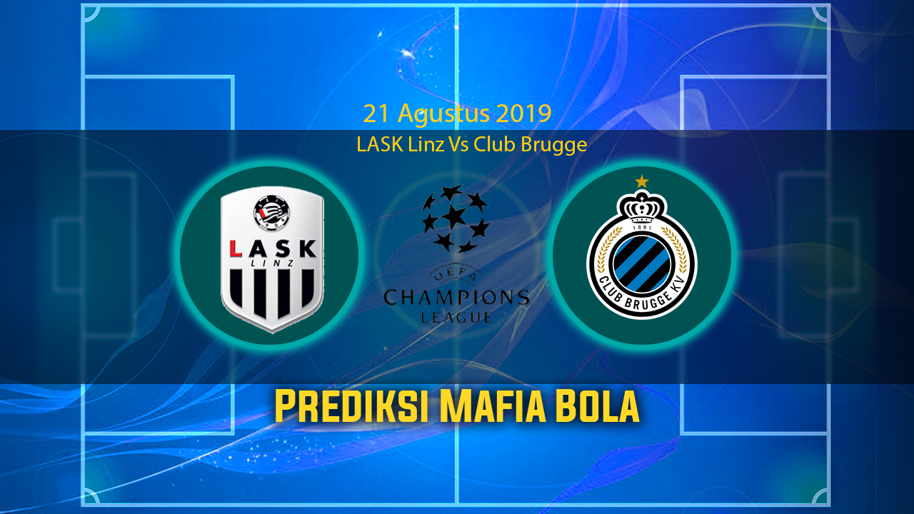 Prediksi LASK Linz Vs Club Brugge 21 Agustus 2019