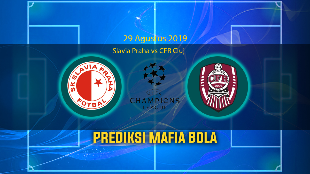 Prediksi Slavia Praha vs CFR Cluj 29 Agustus 2019
