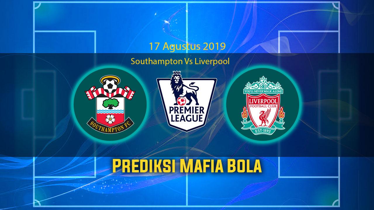 Prediksi Southampton Vs Liverpool 17 Agustus 2019