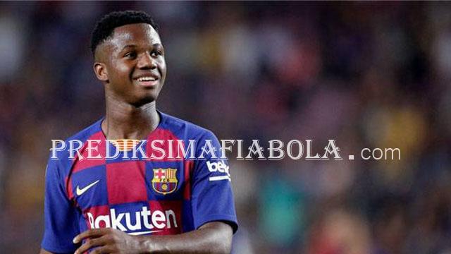 Ansu Fati Pencetak Gol Termudah Di Barcelona