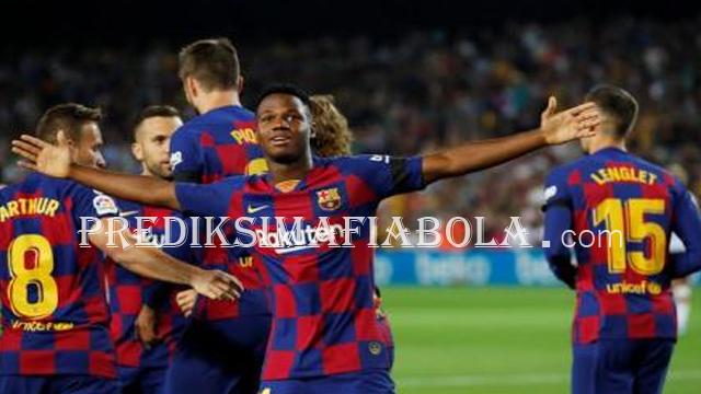 Ansu Fati Teken Kontrak Terbaru Barcelona