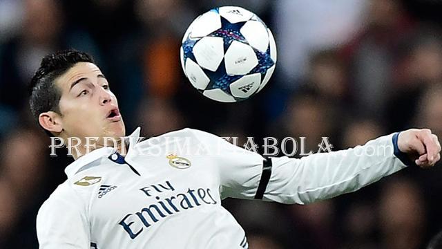 James Rodriguez Sudah Buktikan kalahkan Zinedine Zidane