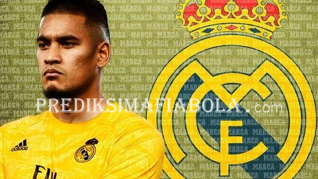 Pindah Real Madrid Alphonse Areola Jadi Cadangan
