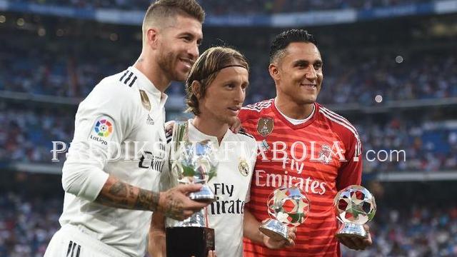 Real Madrid Alami Musim Buruk Namun Dapat Gelar Pemain Terbaik