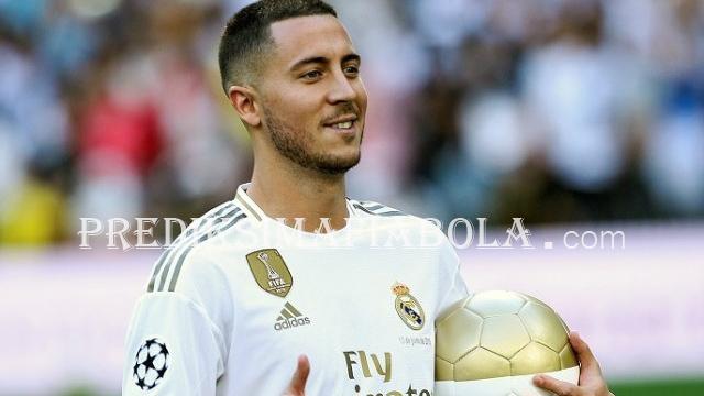 Real Madrid Berharap Eden Hazard Lekas Pulih