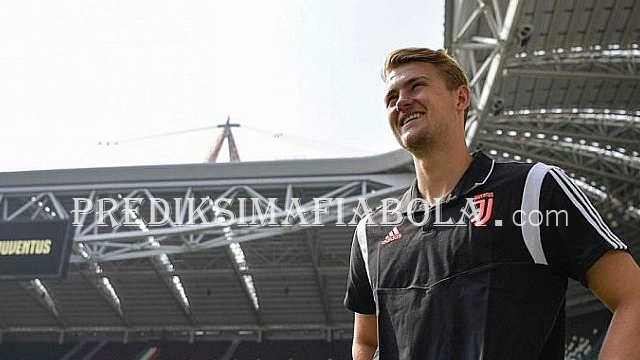 Juventus Menang De Ligt Bahagia