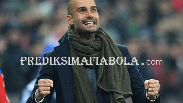 Manchester City Menang Josep Guardiola Sangat Senang