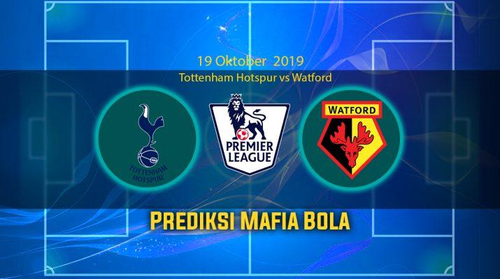 Prediksi Tottenham Hotspur vs Watford 19 Oktober 2019
