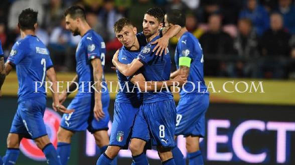 Tim Italia Lolos Euro 2020
