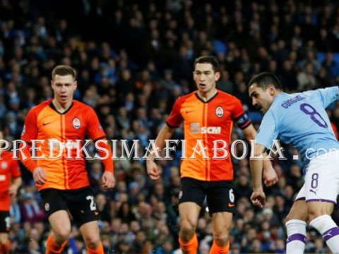 Manchester City Hanya Bisa Dapat Satu Poin Dari Shakhtar Donetsk