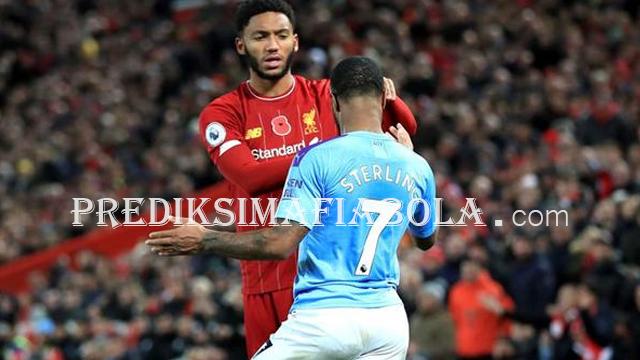 Pemain Liverpool dan Manchester City Terlibat Perkelahian
